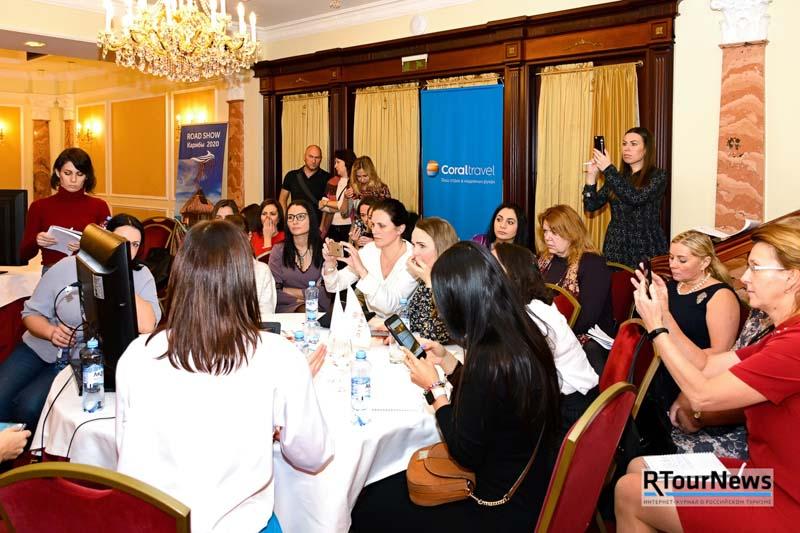 Coral Travel представил громкие новинки на роуд-шоу в Санкт-Петербурге