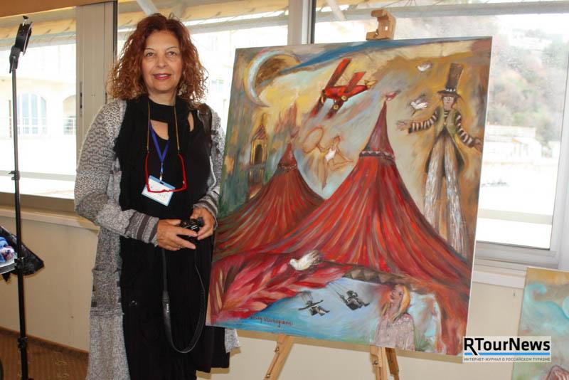 Искусство живет в Крыму в Palmira Palace 4