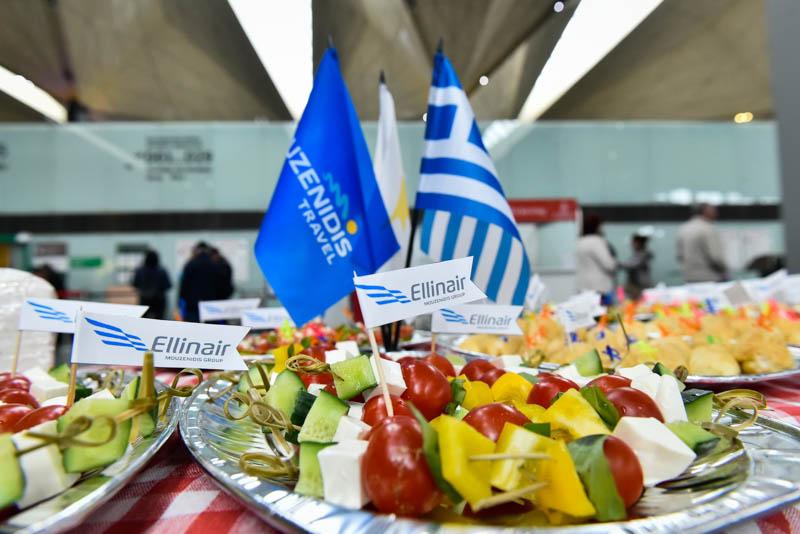Сиртаки в Пулково — Mouzenidis и Ellinair устроили петербуржцам День Греции