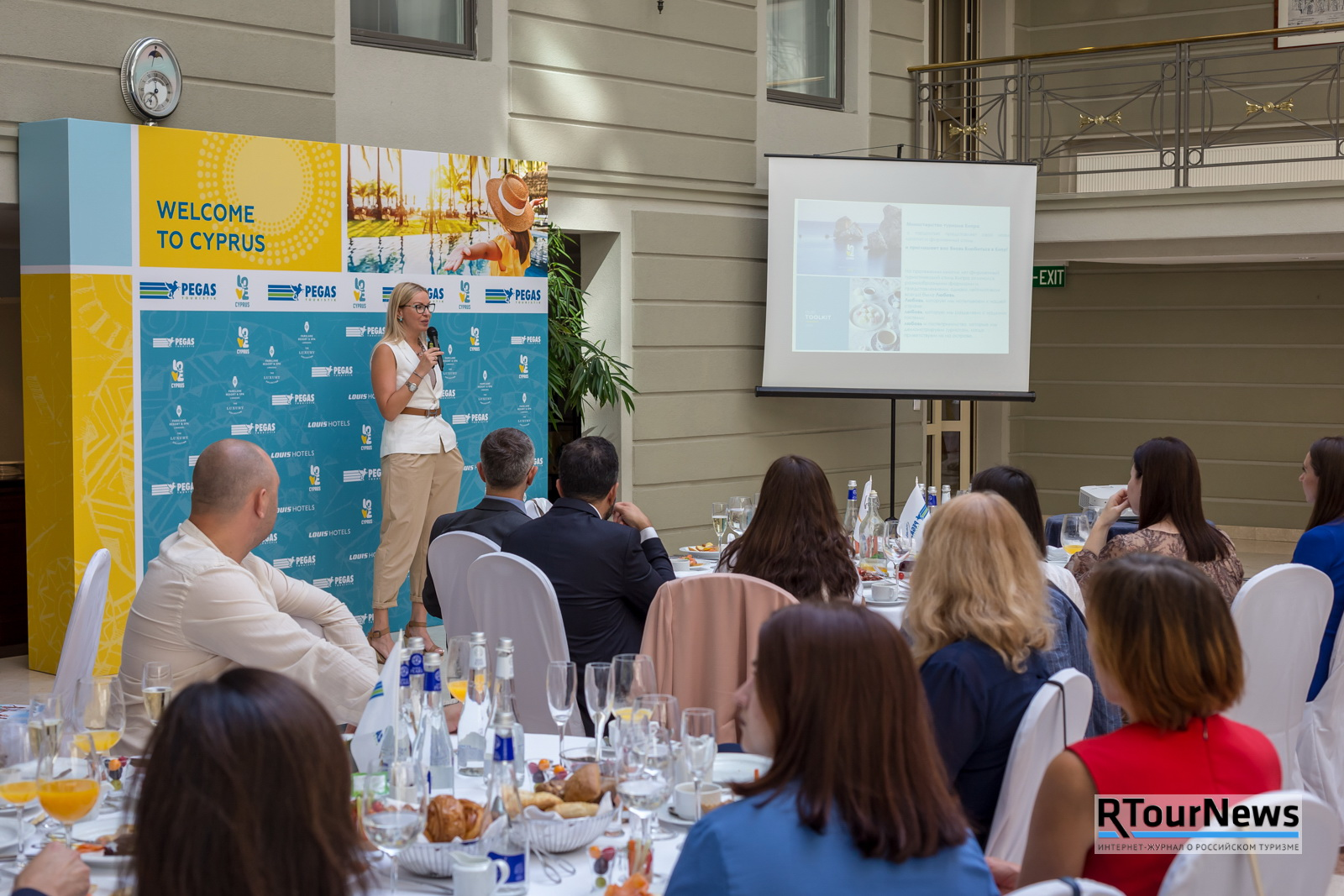 Welcome to Cyprus! PEGAS Touristik провел в Петербурге презентацию Кипра