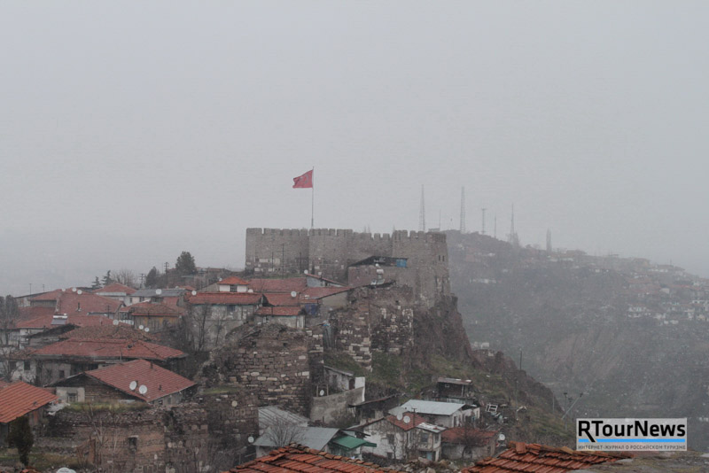 За Турцией к Zemexpert! Крепость в Анкаре