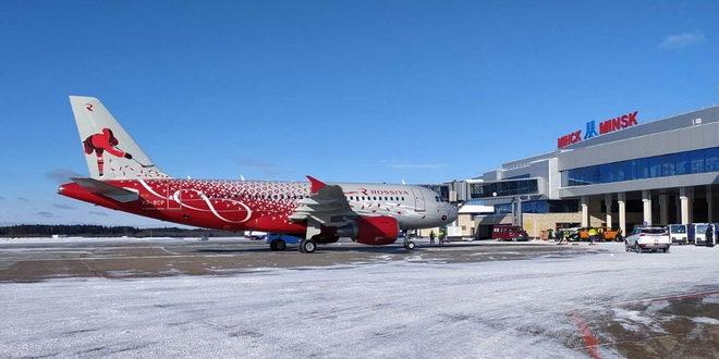 «Россия» запустила рейсы Санкт-Петербург - Минск 1