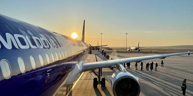 Возобновлены рейсы Air Moldova из Кишинева в Петербурга 1