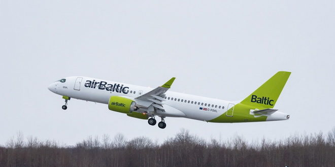 airBaltic возобновила полеты в Петербург 1