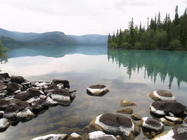 Топ самых красивых озер России 18