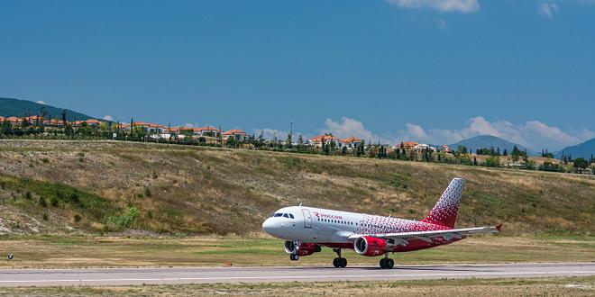 Рейсы «России» в Геленджик становятся круглогодичными