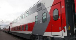 Из Костромы в Петербург запустят двухэтажный железнодорожный экспресс 9