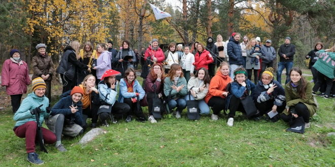 Турслёт первокурсников Академии Штиглица с успехом прошёл в Ленобласти 1