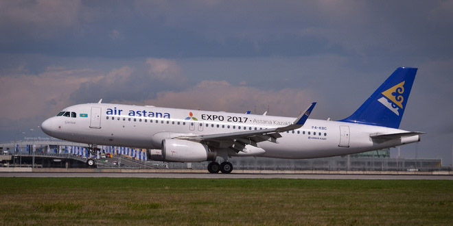 Air Astana возобновила рейсы Петербург - Нур-Султан 1