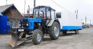В Крым на тракторе отправится этим летом житель Екатеринбурга Александр Маляр.