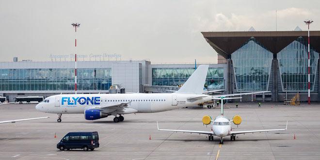 FLYONE возобновляет рейсы из Пулково в Кишинев
