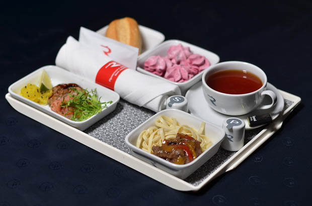 «Россия» обновила питание на рейсах из Санкт-Петербурга 9
