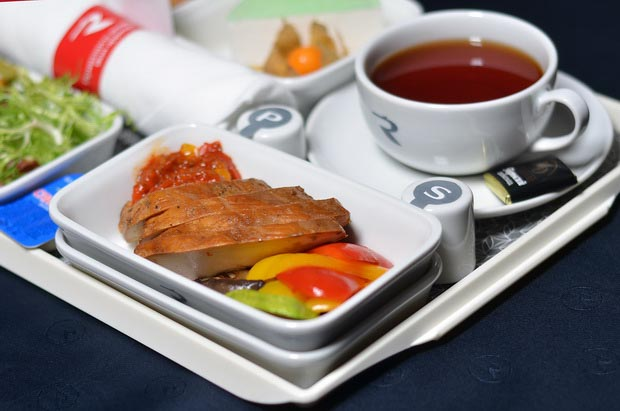 «Россия» обновила питание на рейсах из Санкт-Петербурга 11