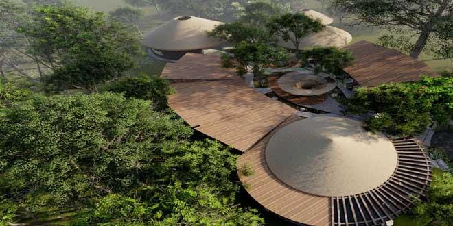 В Доминикане будет построен уникальный эко-отель Leaf Bayahibe 1