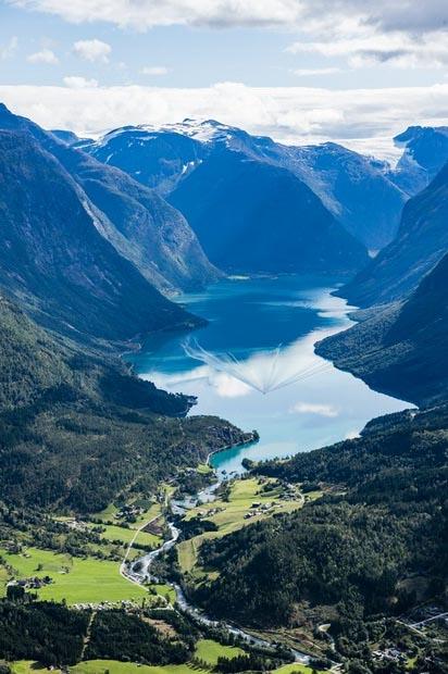 Основным местом притяжения россиян в Норвегию остаются фьорды 3