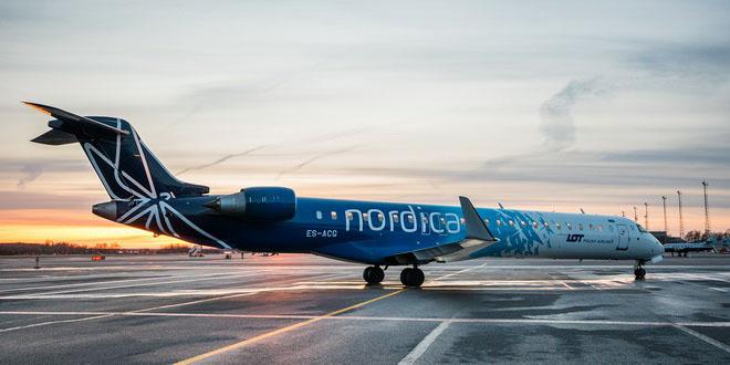 Nordica прекратит полеты в Петербург