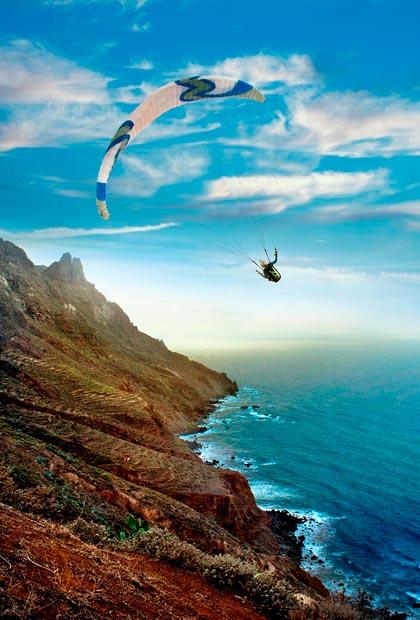 Parapente en Anaga, Tenerife - LOW RES