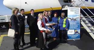 Лоукостер Ryanair прекращает летать из Финляндии