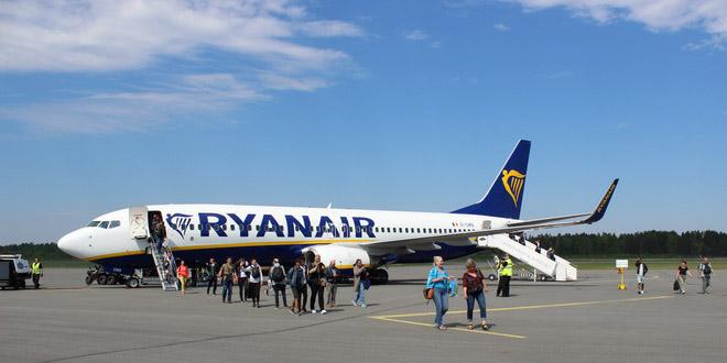 Ryanair отменила рейсы из Лаппеенранты в Грецию