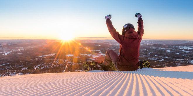 В Скандинавии стартовал горнолыжный сезон 1