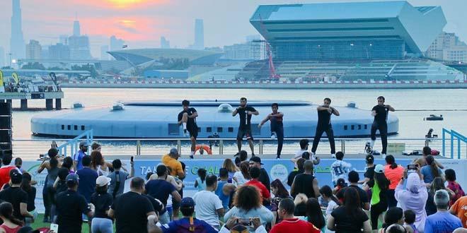 30 дней спорта: в Дубай возвращается спортивная акция Dubai Fitness Challenge 1