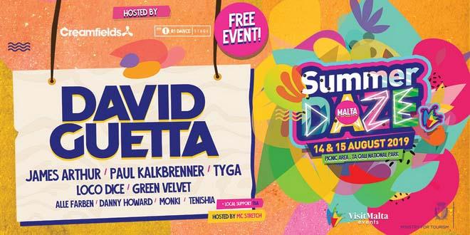 На Мальте во второй раз пройдет музыкальный фестиваль Summer Daze