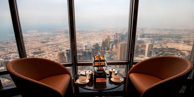 Самый высокий в мире лаундж открылся в Дубае