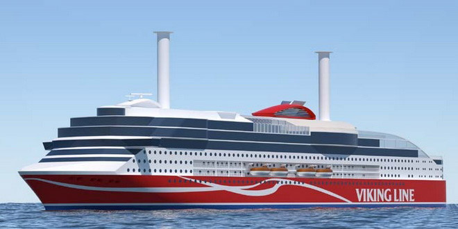 Viking Line проводит конкурс на лучшее имя для нового круизного парома