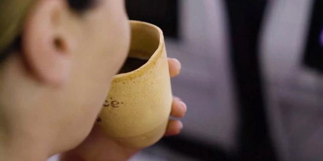 Air New Zealand будет использовать съедобные чашки 1