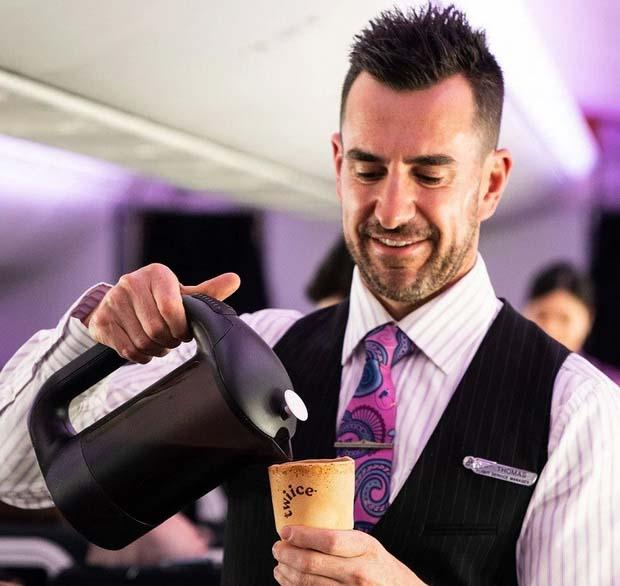 Air New Zealand будет использовать съедобные чашки 5