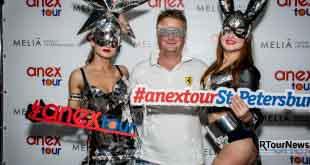 Фотоотчет с вечеринки ANEX Tour и Melia Hotels Int. 1