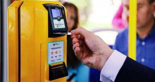 В автобусах в Пулково можно расплатиться банковской картой