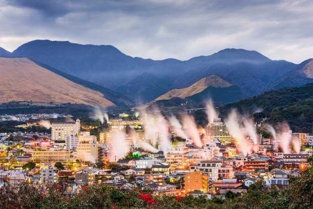Бэппу - термальная столица Японии 3