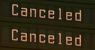 Десятки рейсов отменены в международном аэропорту Дубая из-за наводнения 15