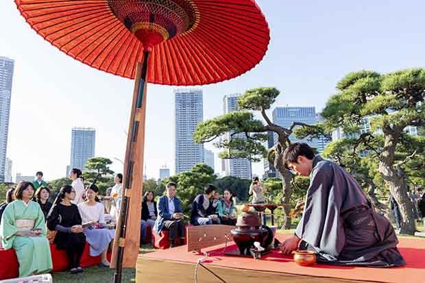 Большой чай в Токио