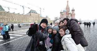Китайцы стали ездить в Россию в 2,5 раза чаще
