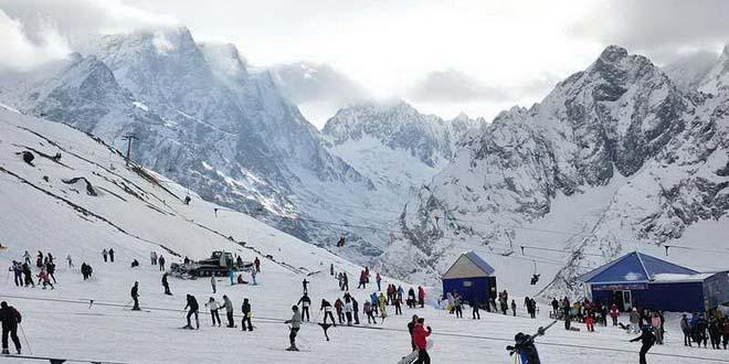 На Домбае обсудили развитие горнолыжного туризма в России 1