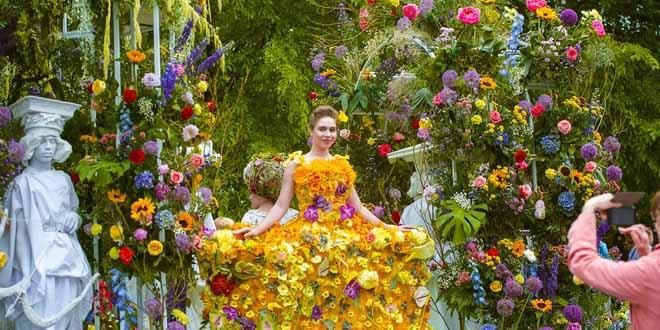 Фестиваль цветов пройдёт в Петербурге с 11 по 13 июня