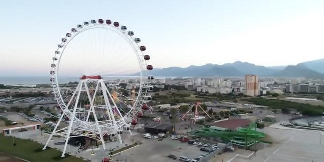 В Анталье открылось второе самое высокое колесо обозрения Европы