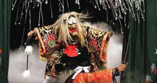 Посмотреть на японские танцы 13