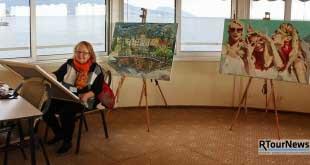 Искусство живет в Крыму в Palmira Palace