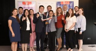 10.06.2019 г. Санкт-Петербург, отель Sofitel. Презентация рейсов в Куньмин китайской авиакомпании Lucky Air