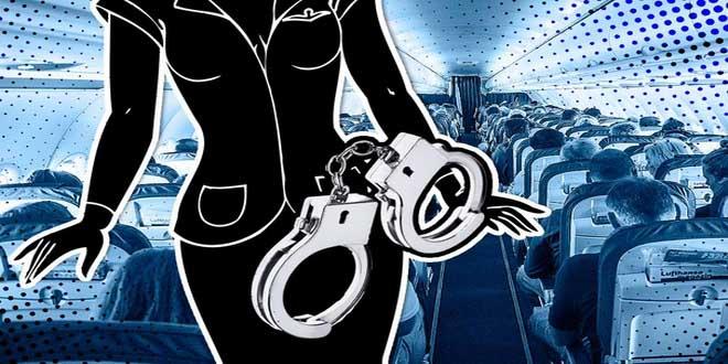 Авиадебоширов закуют в наручники