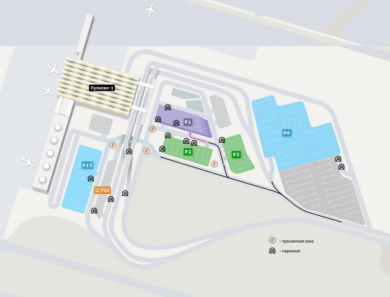 Пулково открыл новую долгосрочную парковку рядом с терминалом 5