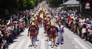 1200 самураев пройдут парадом на японском фестивале