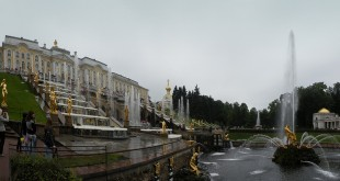 Фонтаны в Петергофе пустят 25 апреля 17