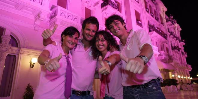 Розовая ночь на Адриатической ривьере Эмилии-Романьи