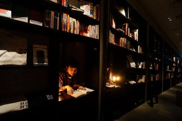 Как поспать в библиотеке
