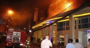 В Паттайе сгорел отель Holiday Inn (видео) 12