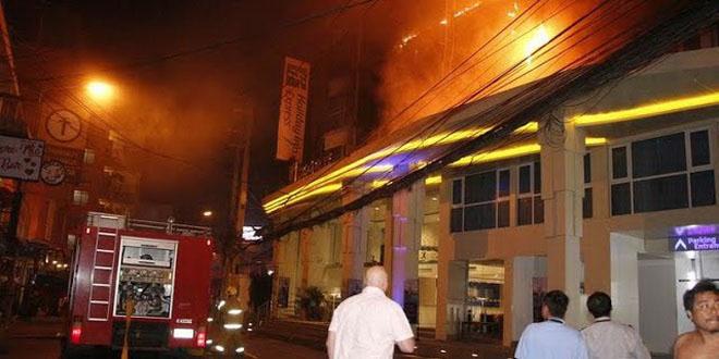 В Паттайе сгорел отель Holiday Inn (видео) 1
